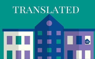 Estate agent talk translated